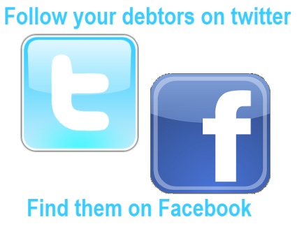 Twitter and Facebook make it easier to recover debt
